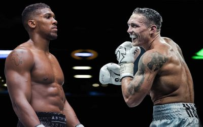 Anthony Joshua vs Oleksandr Usyk – Defeat Leaves Joshua Raring for Rematch